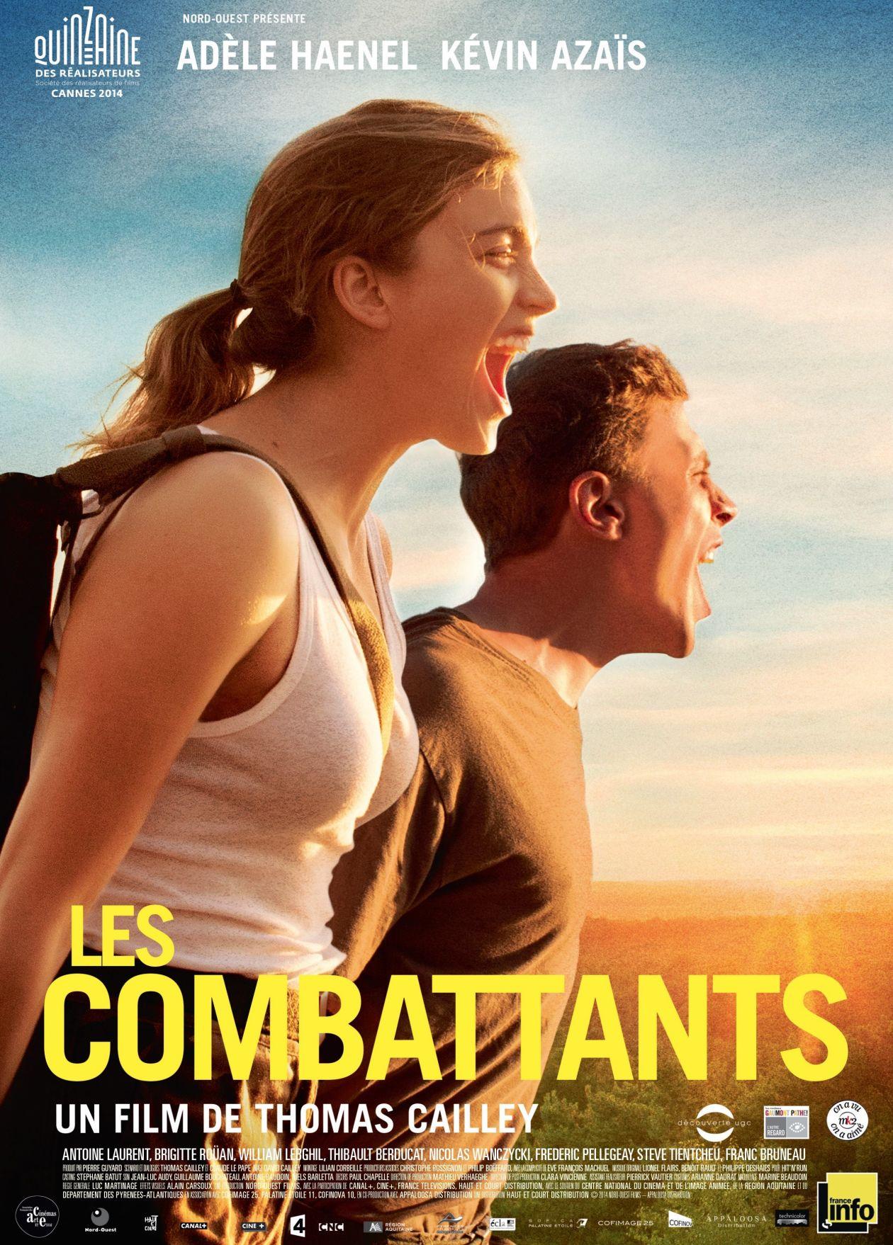 Adèle Haenel : Les Combattants - Thomas Cailley 2014 Movie Poster / Affiche film