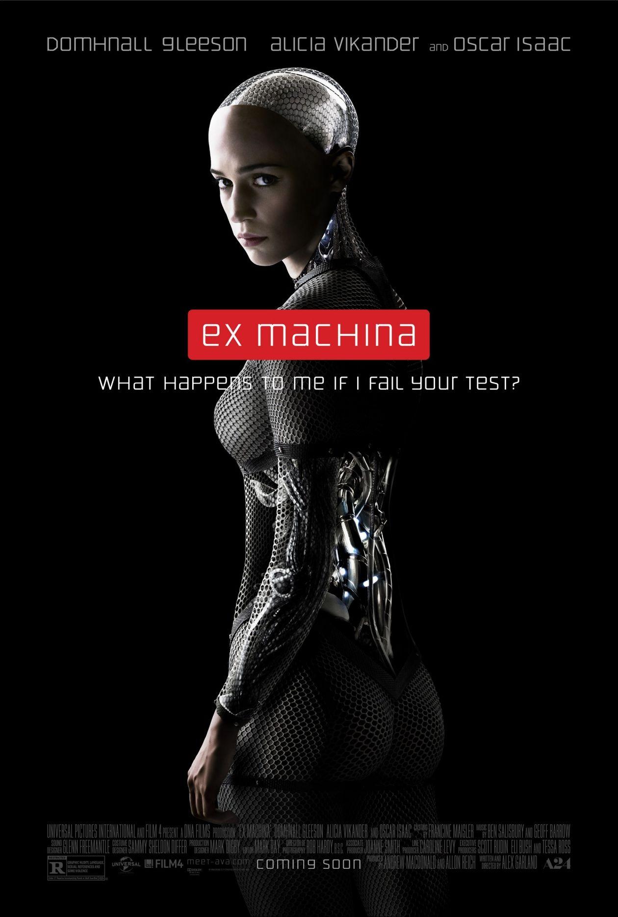 Alicia Vikander | Ex Machina / Alex Garland / Movie Poster / Affiche film
