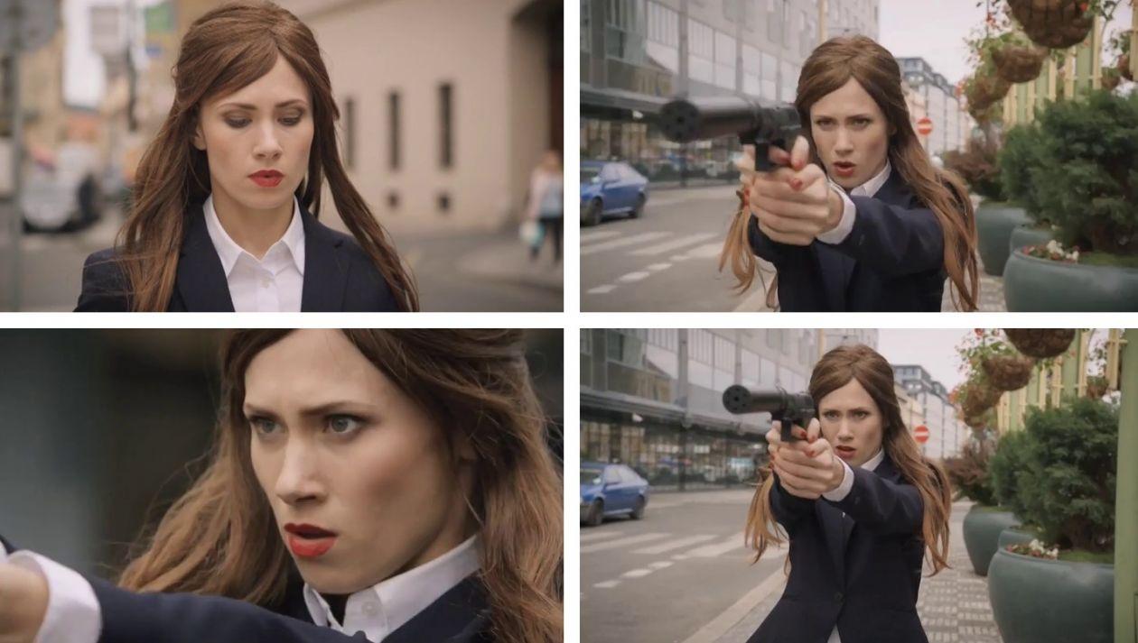 Crossing Lines (TV Series) / Alina Levshin actress : Valentina  Obscura (2015)