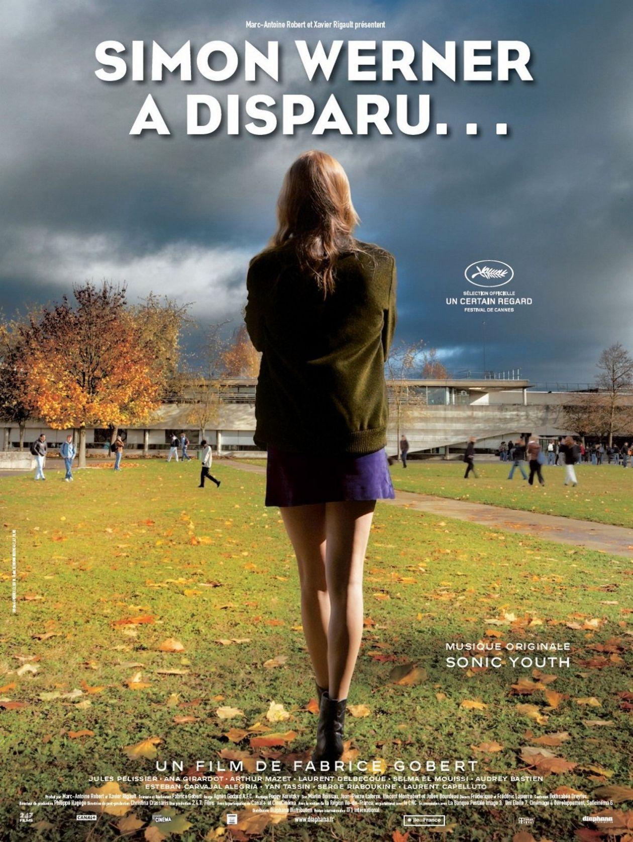 Ana Girardot : Simon Werner a disparu... | Fabrice Gobert / Affiche du film / Movie Poster