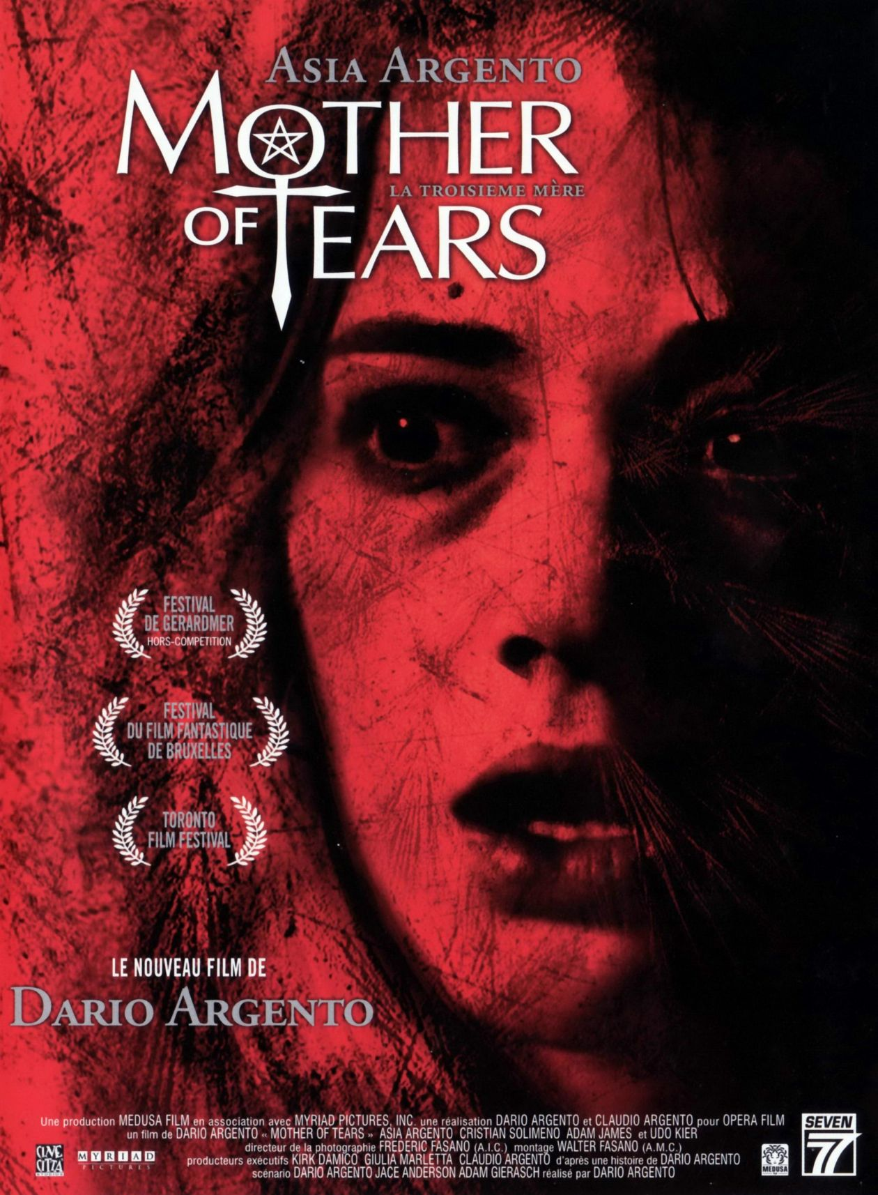 Asia Argento actress | Mother of Tears / Dario Argento 2007 Movie Poster Affiche film