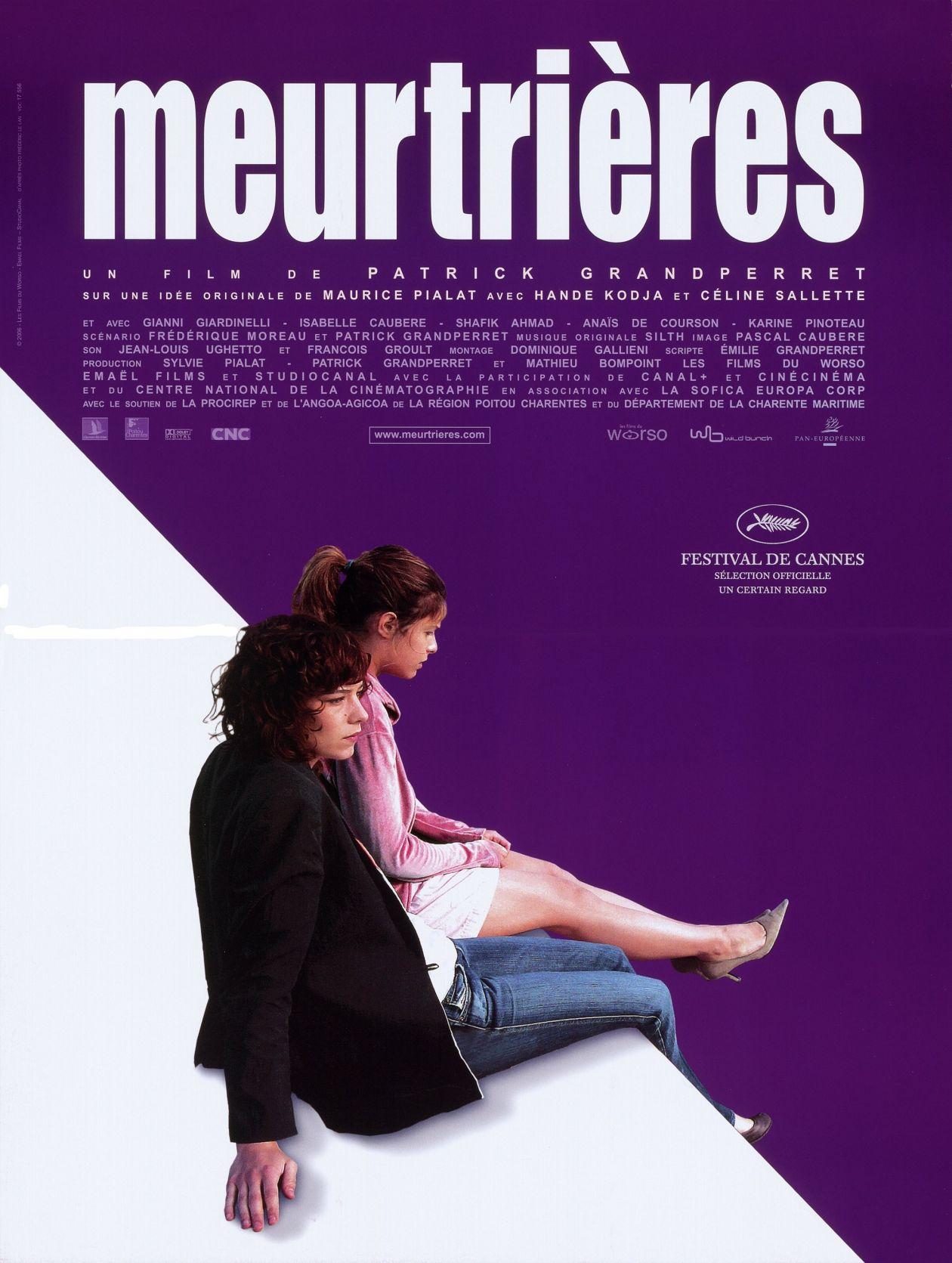 Céline Sallette / Hande Kodja actresses actrices comédiennes   Meurtrières / Movie Poster / Affiche film / Patrick Grandperret 2006