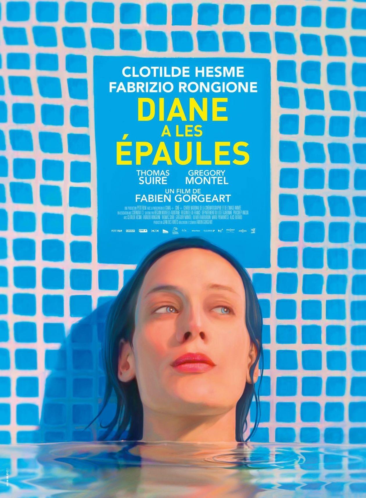 Clotilde Hesme 2017 : Diane a les épaules / Fabien Gorgeart