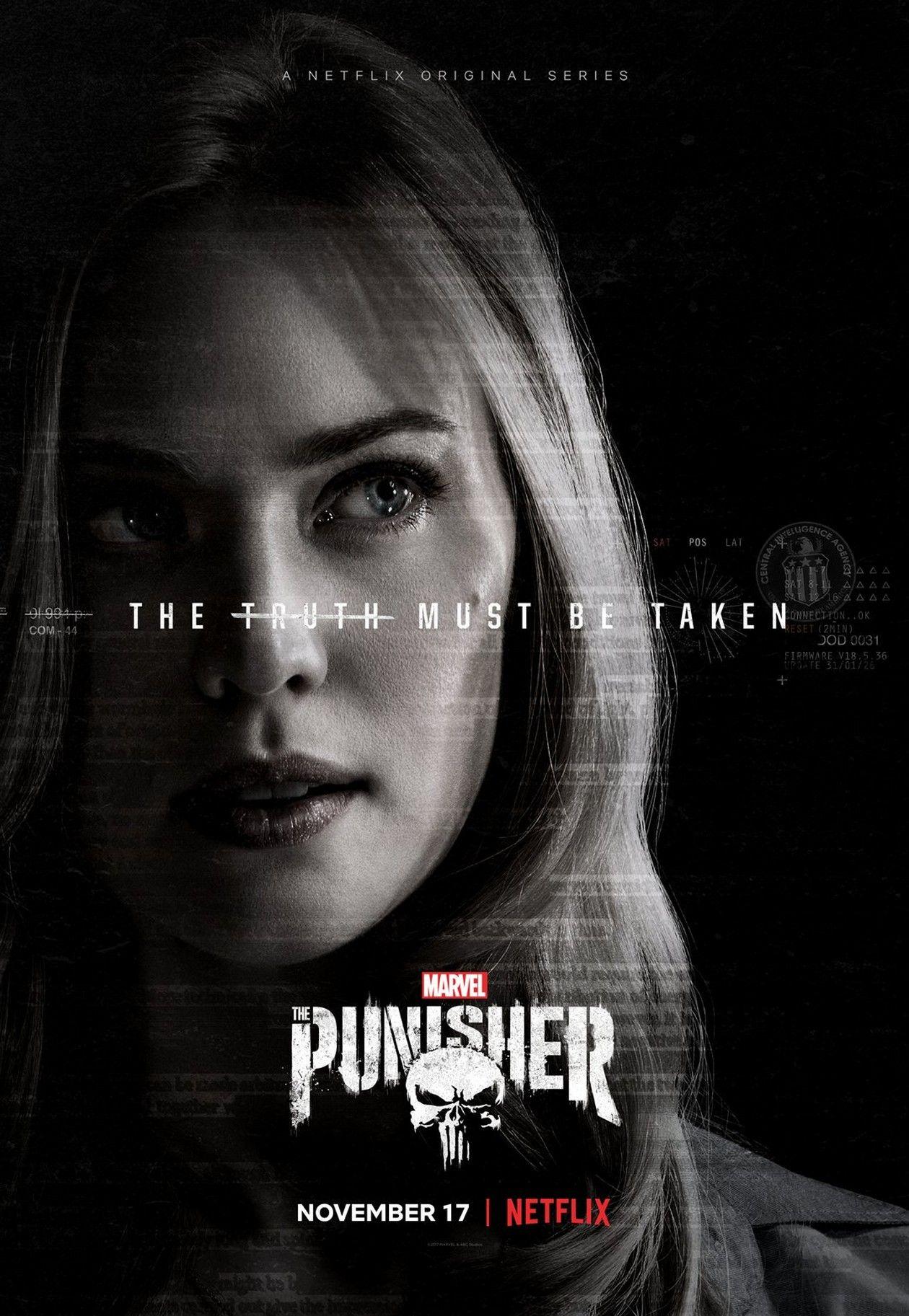 Deborah Ann Woll  The Punisher : Karen Page / Marvel NETFLIX Original Series 2017