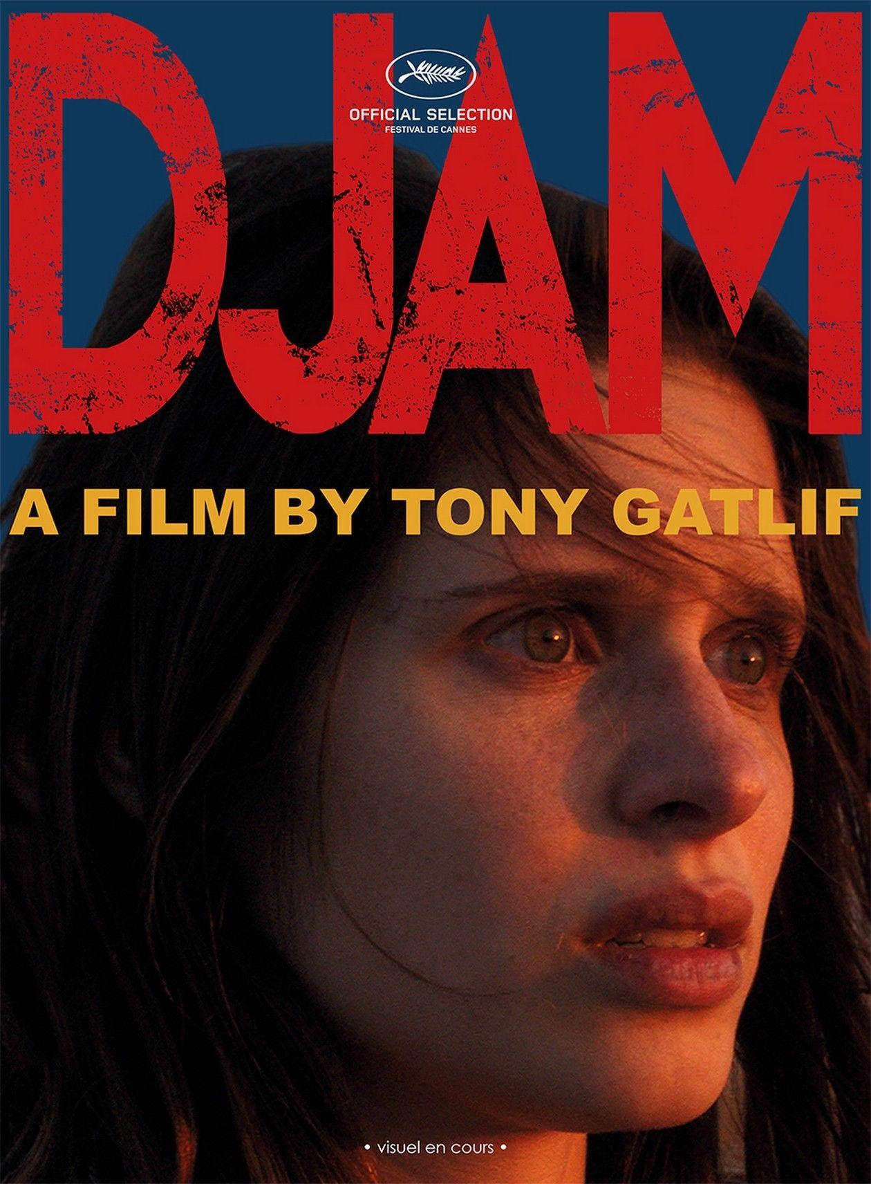 Daphné Patakia actress actrice comédienne | Djam / TONY GATLIF 2017 - MOVIE POSTER / AFFICHE FILM