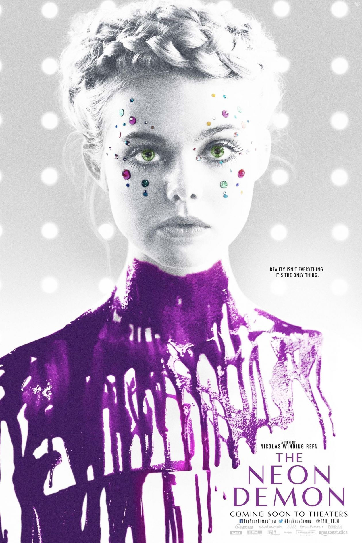 Elle Fanning | The Neon Demon | Nicolas Winding Refn / 2016 Movie Poster / Affiche du film