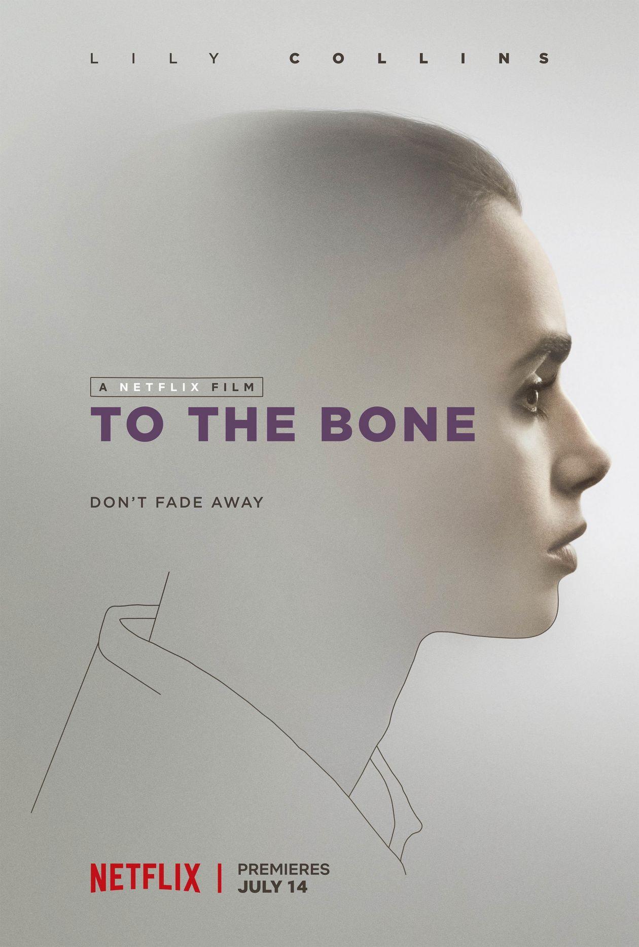 Lily Collins | To the Bone : Ellen | NETFLIX 2017