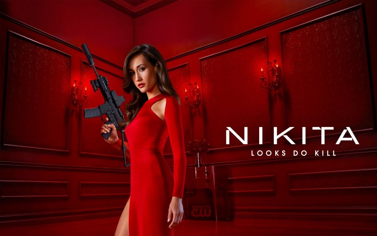 Maggie Q actress | Nikita / TV SERIES Poster Affiche