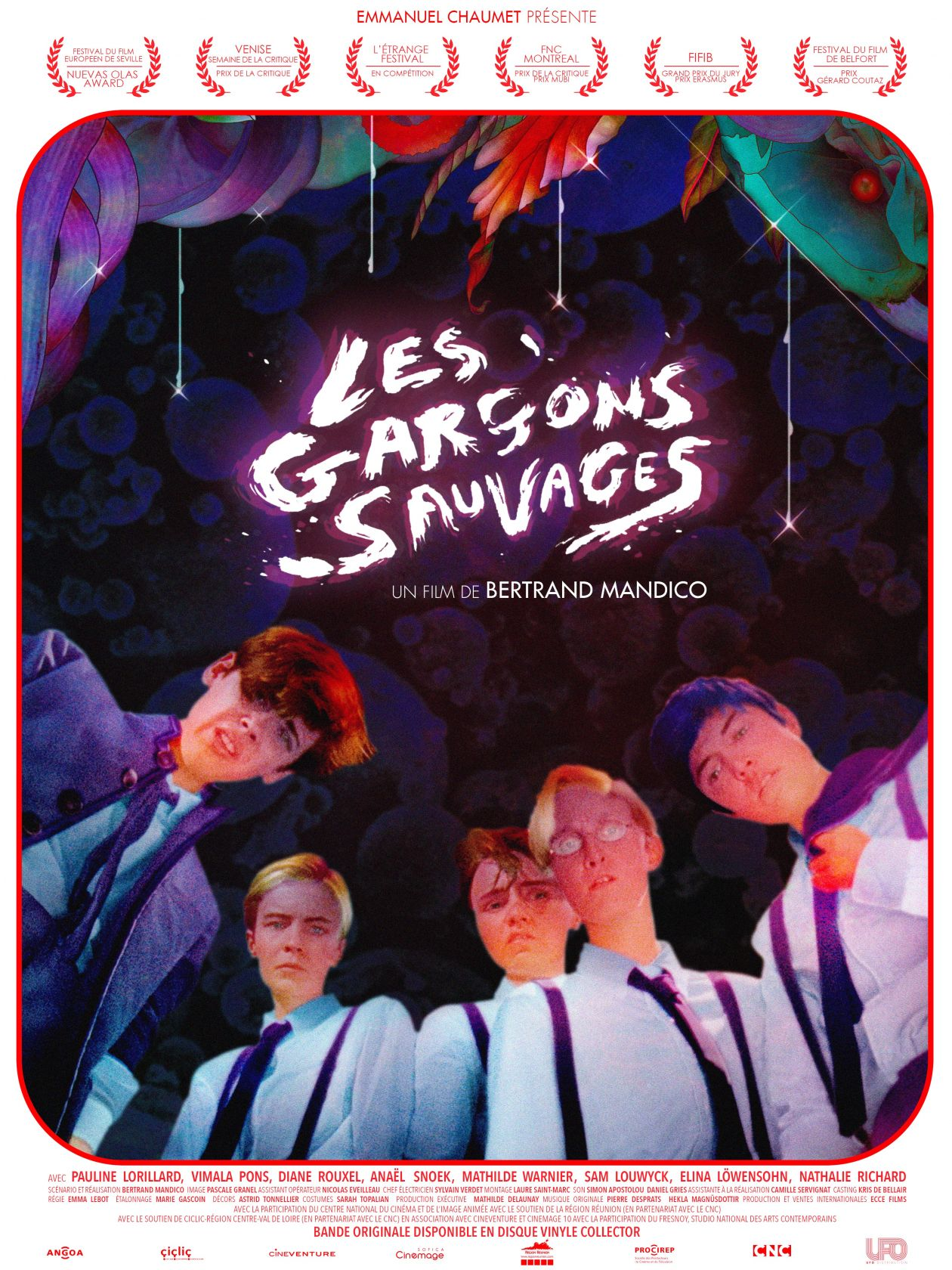 Mathilde Warnier French actress / Les Garçons Sauvages - The Wild Boys - Bertrand Mandico Movie Poster Afiche film