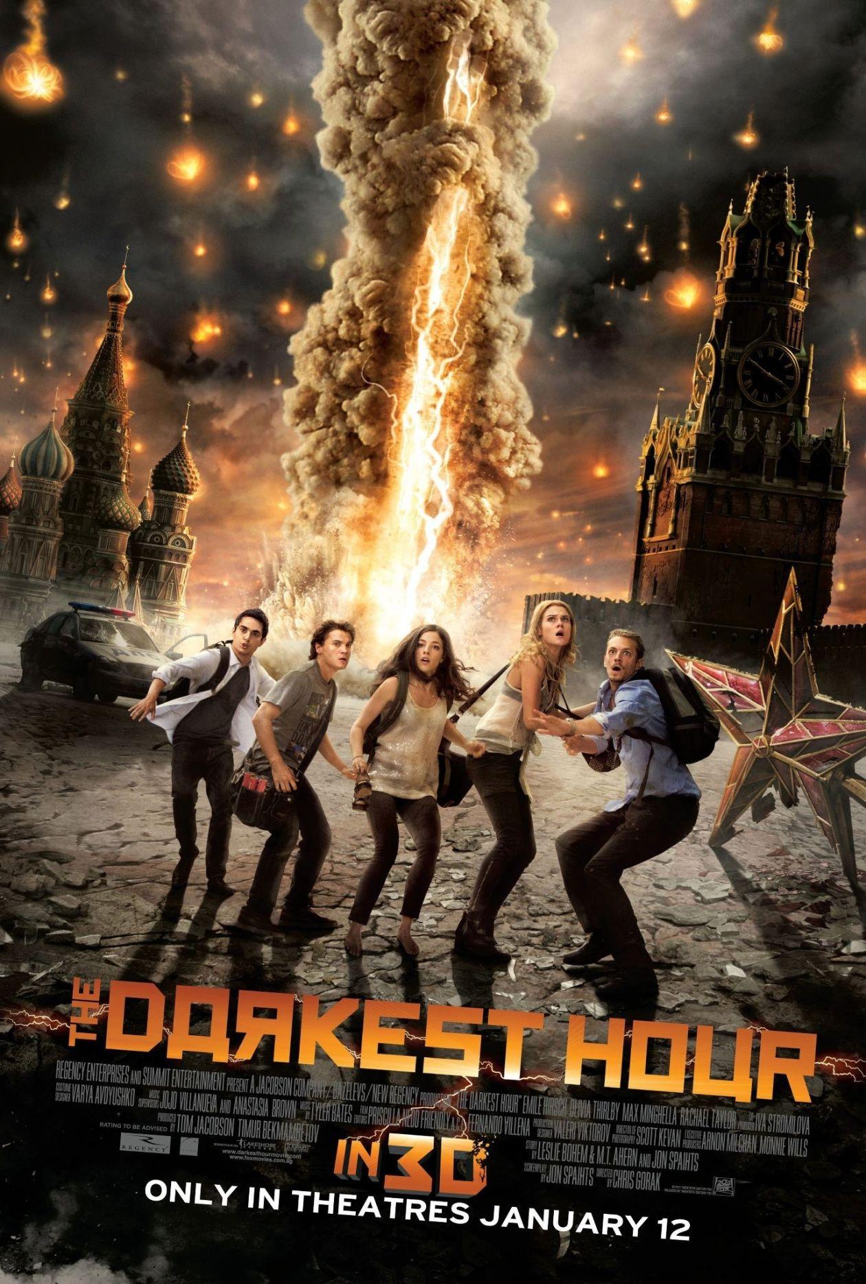 Olivia Thirlby actress | The Darkest Hour Chris Gorak 2011 / Movie Poster / Affiche film
