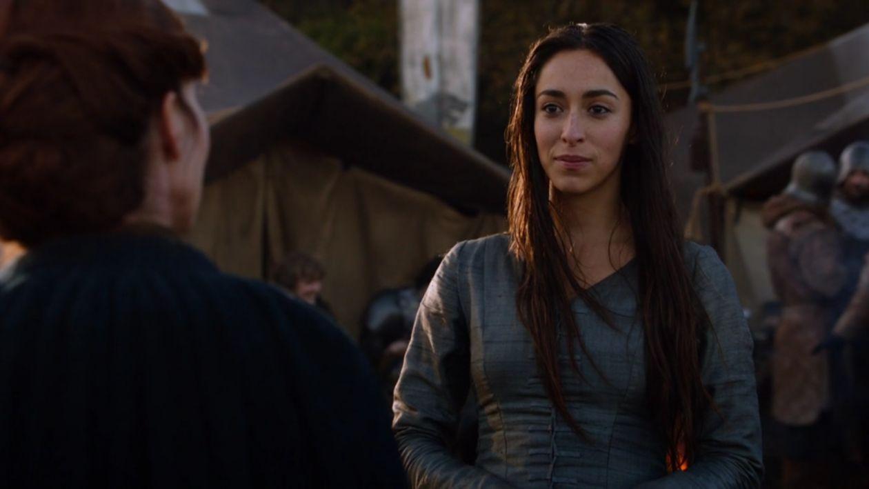 Oona Chaplin actress Talisa Maegyr Game of Thrones season 2 2012