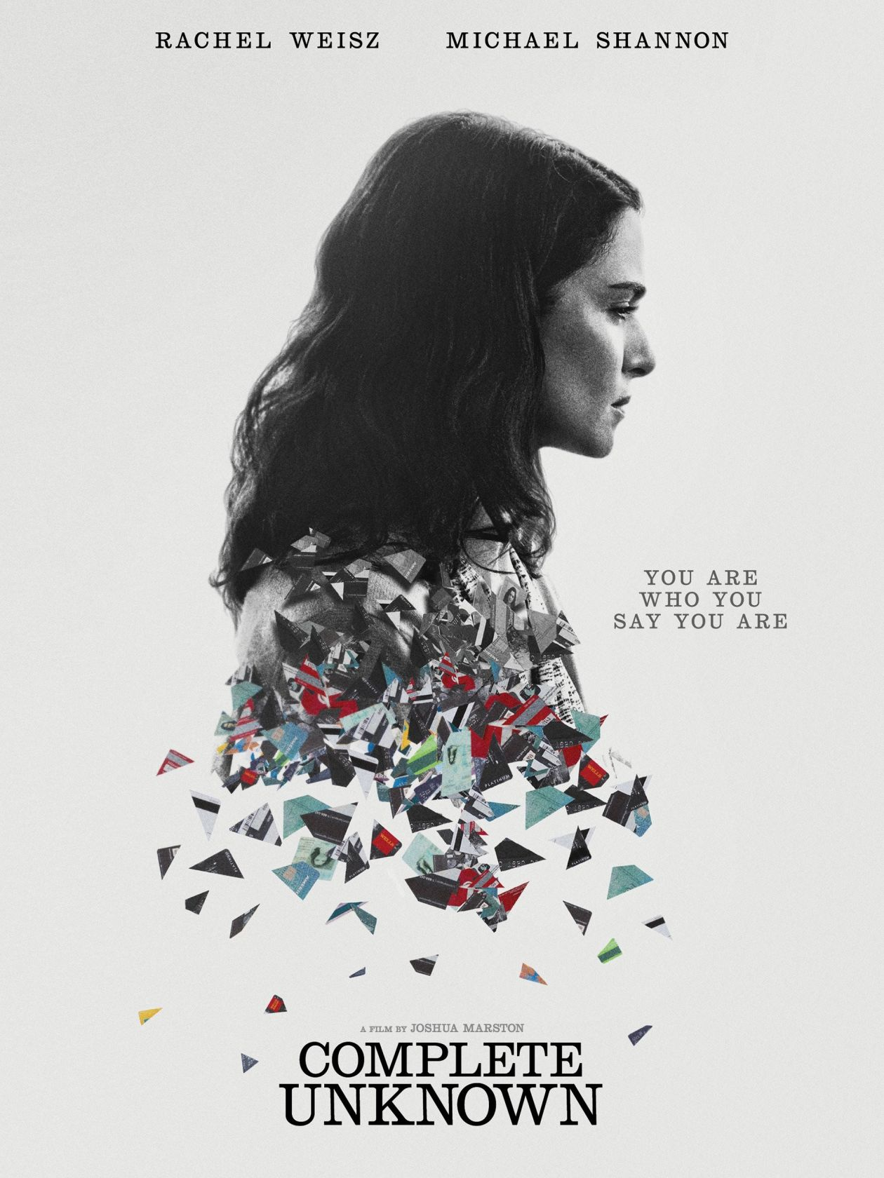 Rachel Weisz | Complete Unknown / Joshua Marston 2016 Movie Poster / Affiche du film