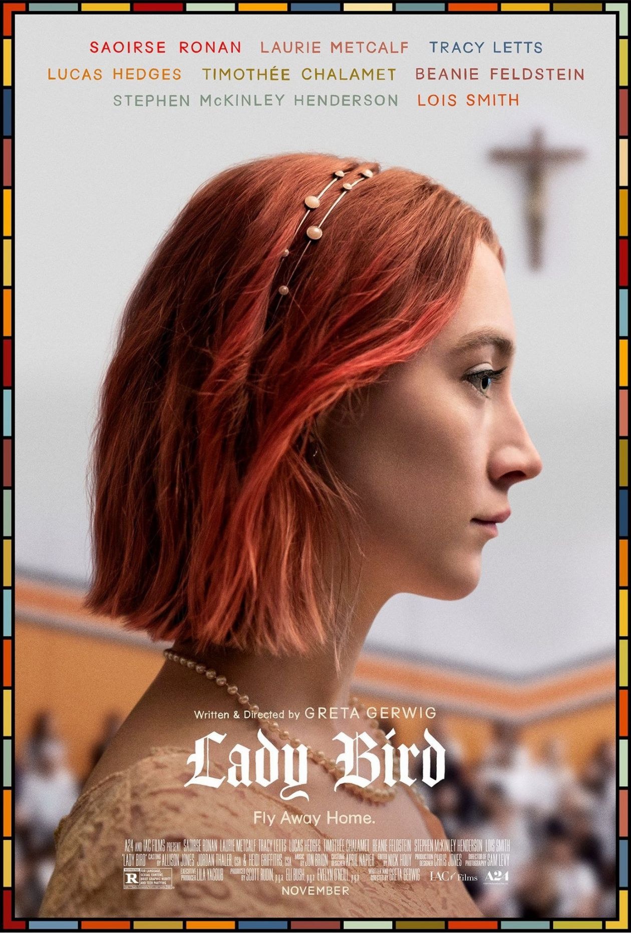 Saoirse Ronan actress | Lady Bird : Christine Lady Bird McPherson | Greta Gerwig 2017