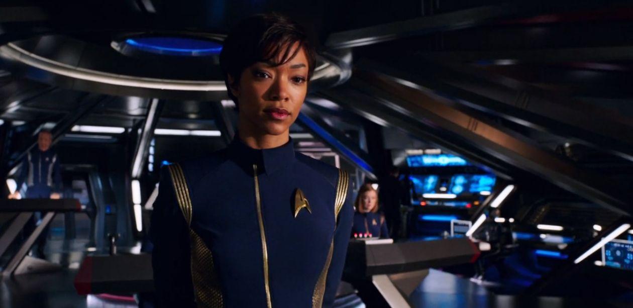 Sonequa Martin-Green actress : Michael Burnham  Star Trek: Discovery   2017
