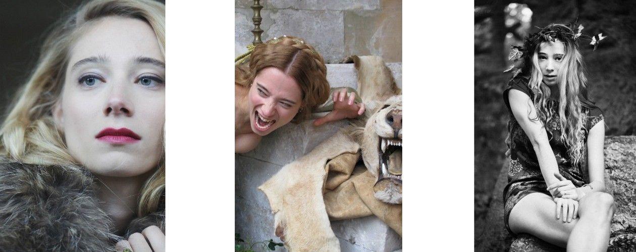 Zoé Schellenberg actress / Photos Béatrice Cruveiller / Francesco Rossi