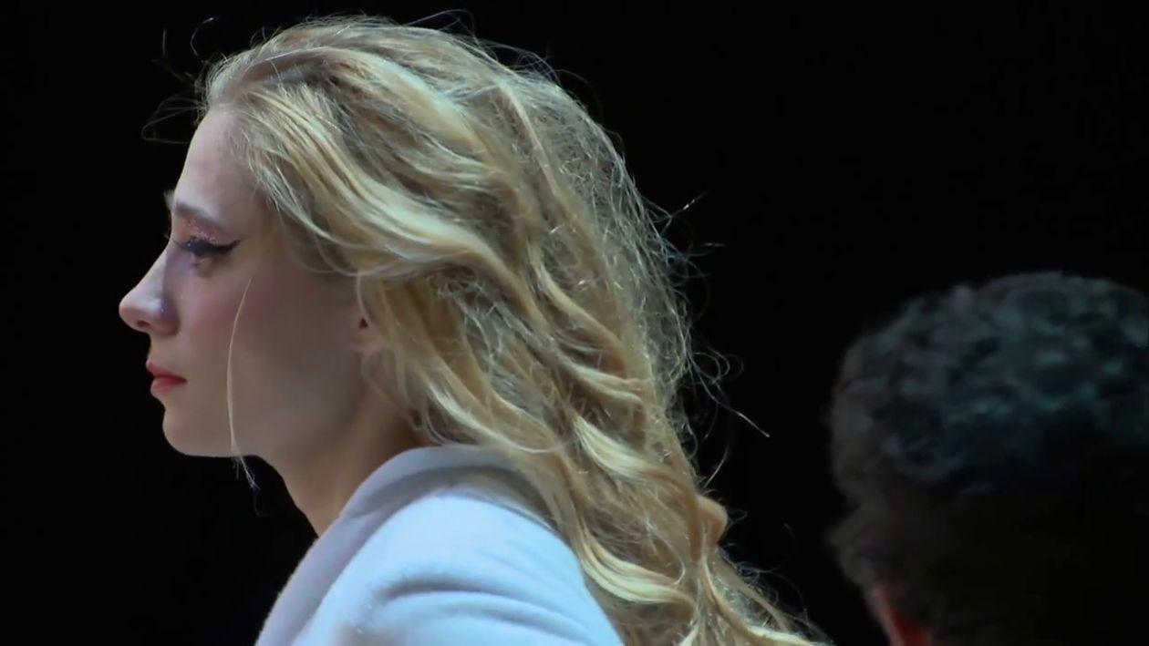 """Zoé Schellenberg actress / Rôle : Iseult / 2014 """"Tristan"""" Auteur : adaptation d'Éric Vigner , Mise en scène : Éric Vigner  Lieu de création : Grand Théâtre de Lorient , Autres lieux : Comédie de Reims, Scène Nationale de Châteauroux, Théâtre National de Bretagne, Scène Nationale de Saint-Brieuc, T2G"""
