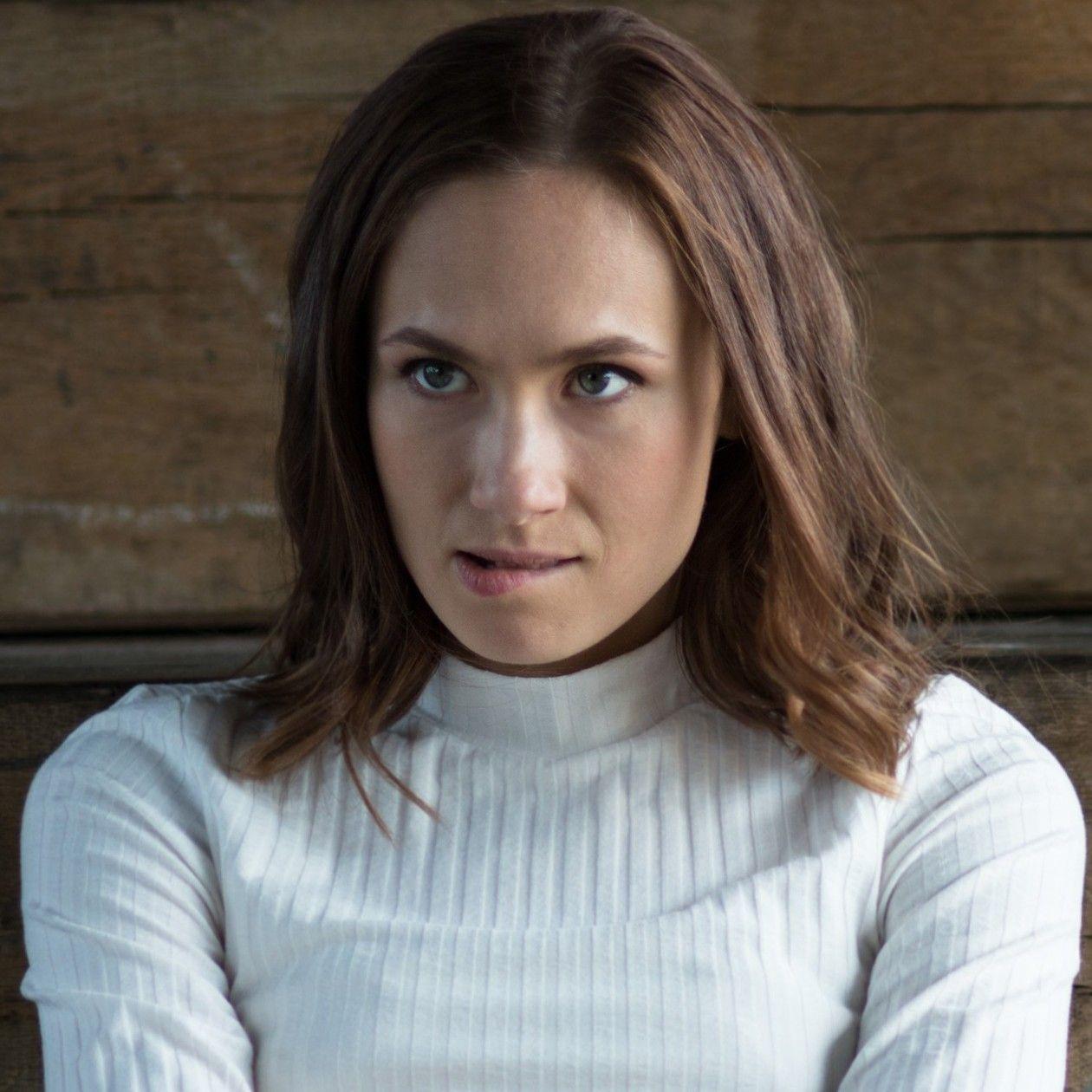 Close-up Alina Levshin actress / photo (c) Nadja Klier 2017 Detail / Gros plan