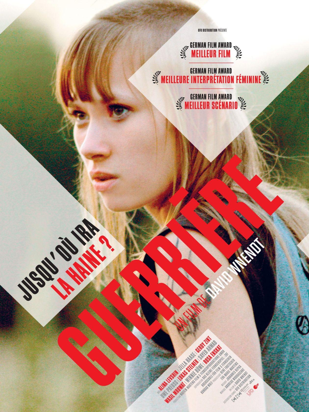 Alina Levshin actress / KRIEGERIN / GUERRIERE / MOVIE POSTER AFFICHE FILM