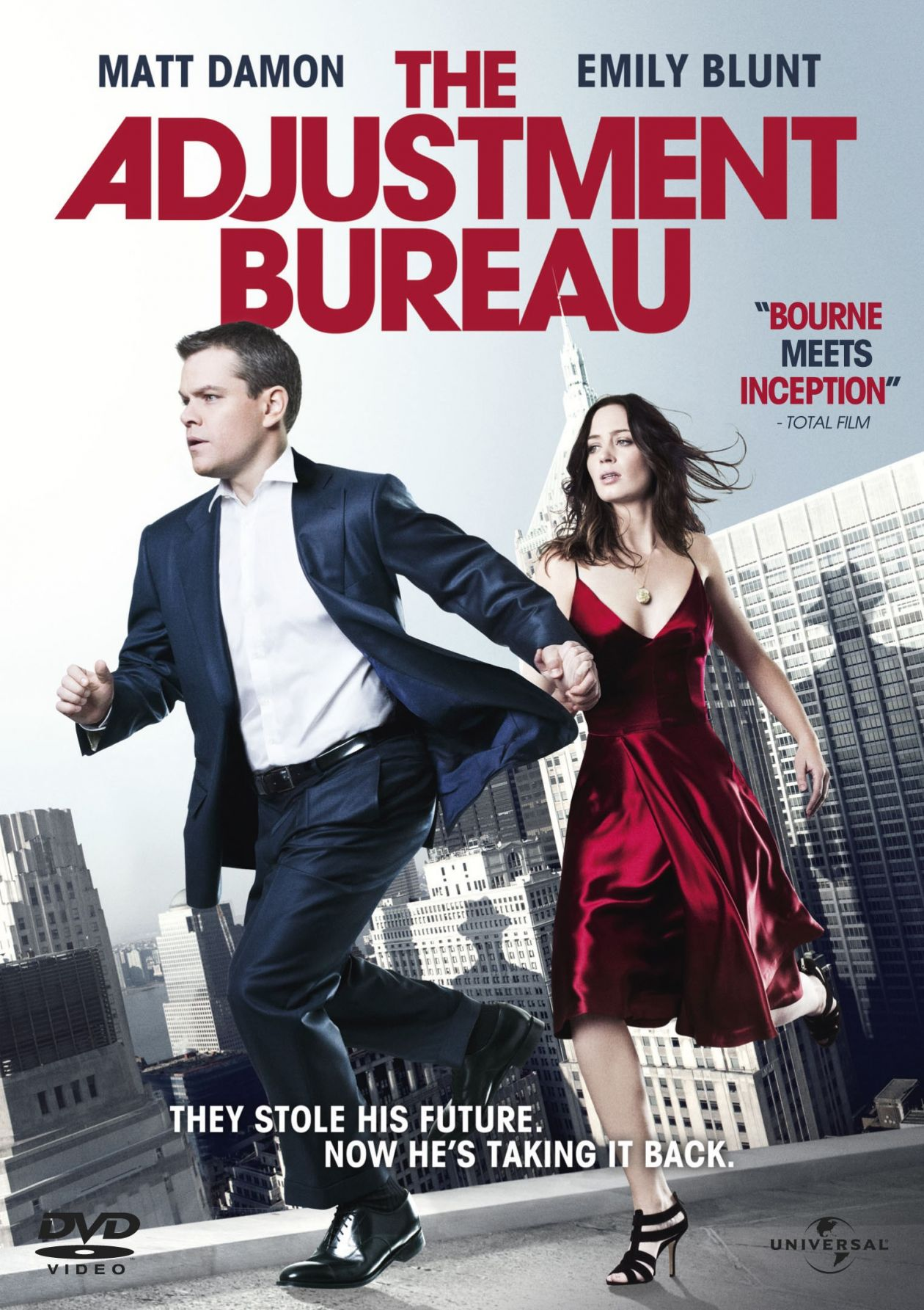 Emily Blunt actress / The Adjustment Bureau / L'Agence / George Nolfi 2011 / Movie Poster / Affiche de film