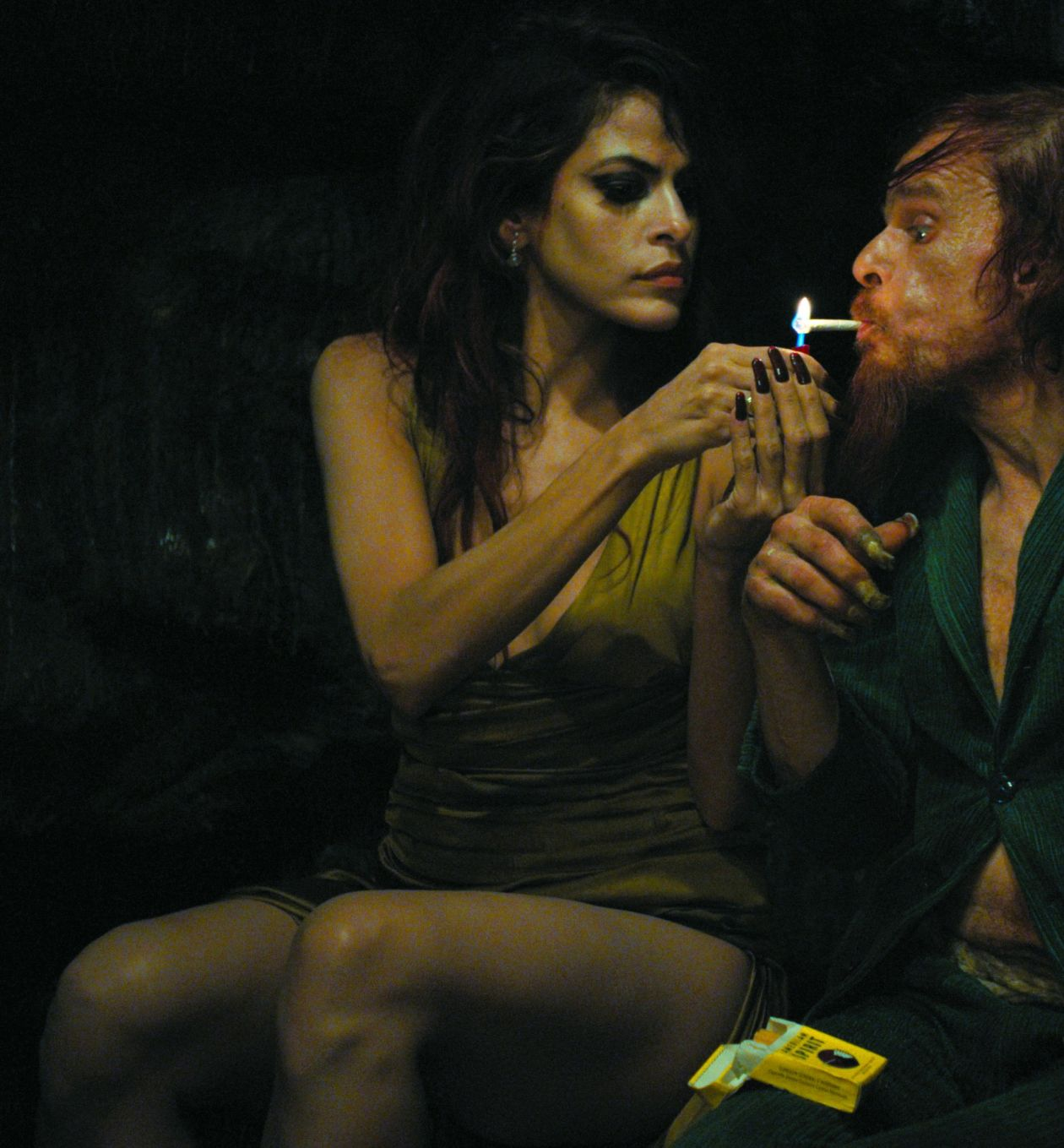 Eva Mendes actress / Denis Lavant | Holy Motors / Leos Carax 2012