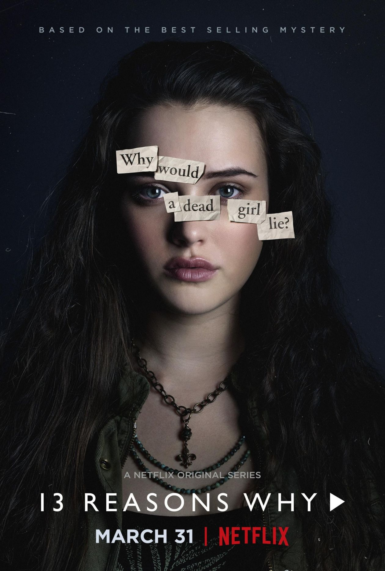 Katherine Langford | 13 Reasons Why : Hannah Baker | NETFLIX 2017
