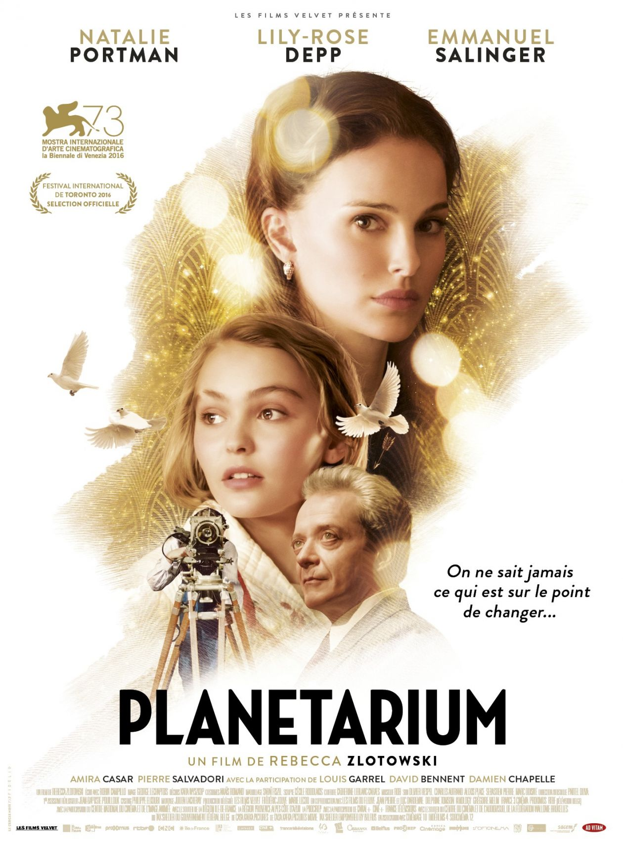 Lily-Rose Depp / Natalie Portman | Planetarium / Rebecca Zlotowski 2016 Movie Poster / Affiche du film