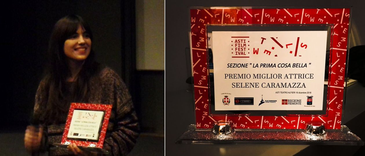 Selene Caramazza | Best Actress Award / Premio Miglior Attrice / Asti Film Festival